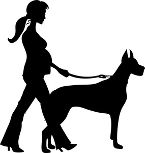 Clipart walking the dog jpg library stock Clip Art Man Walking Dogs Clipart - Clipart Kid jpg library stock