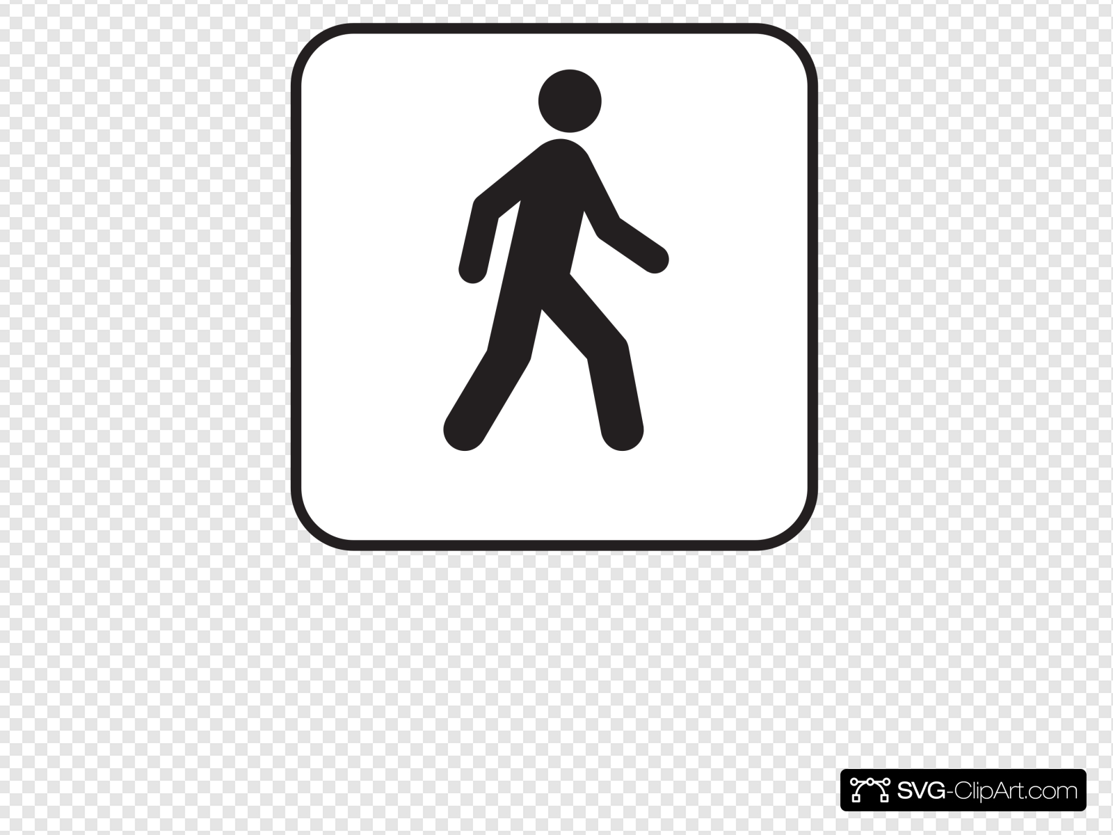 Clipart walking with cars in the street black and white clip art transparent library Walking Man White Clip art, Icon and SVG - SVG Clipart clip art transparent library