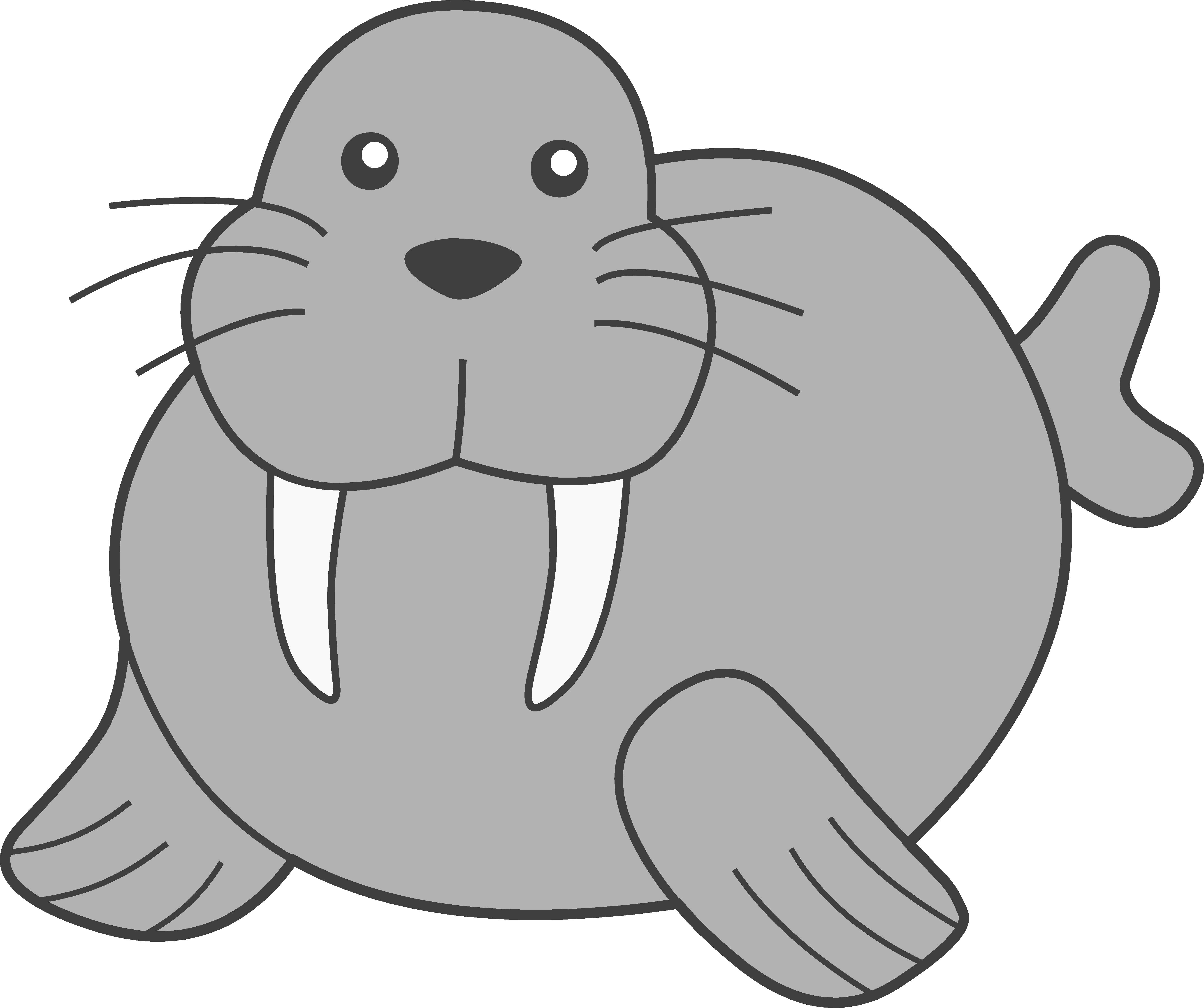 Clipart walrus vector library Walrus Clipart | Clipart Panda - Free Clipart Images vector library