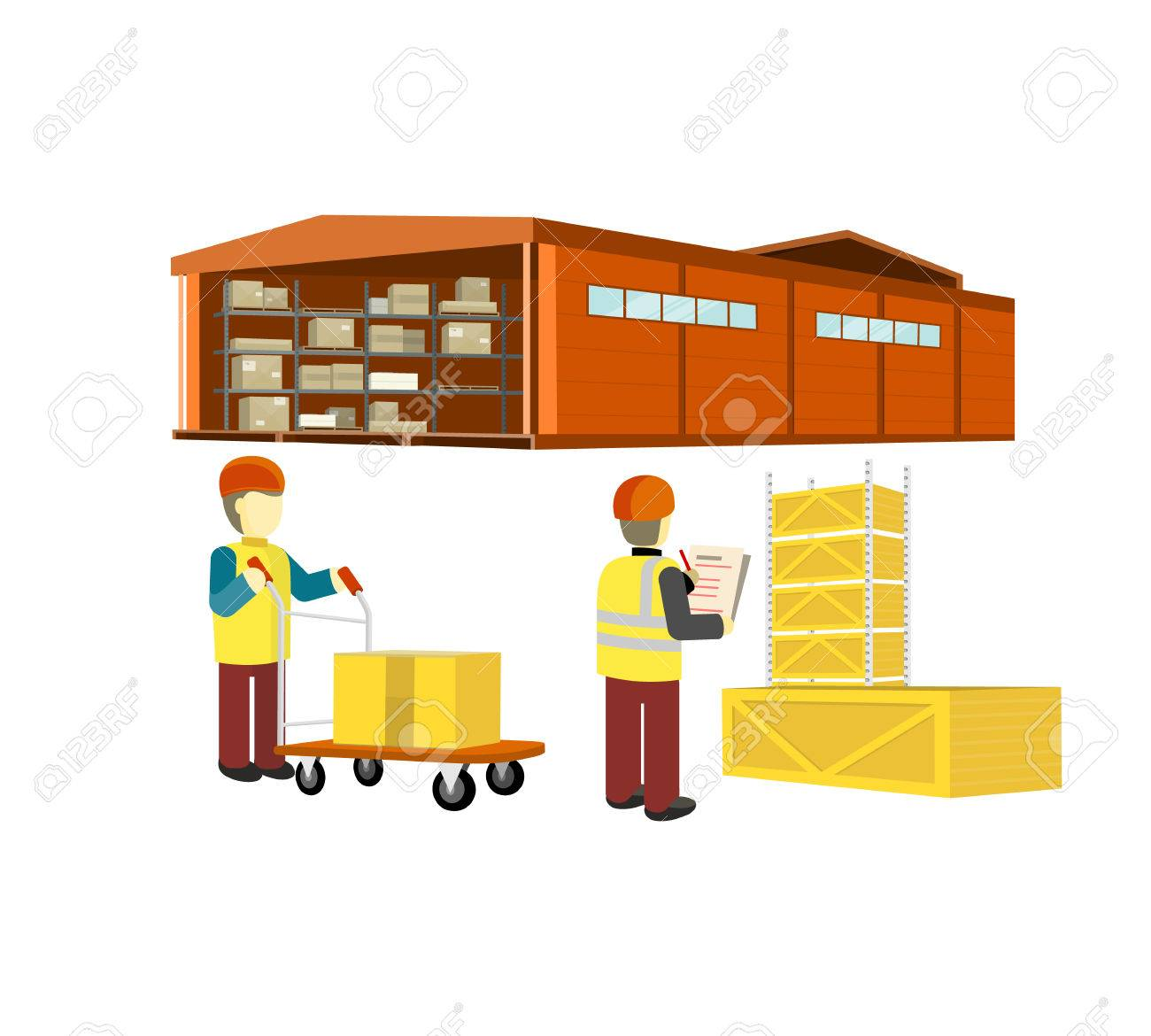 Warehouse picture clipart image Warehouse clipart factory man - 145 transparent clip arts, images ... image