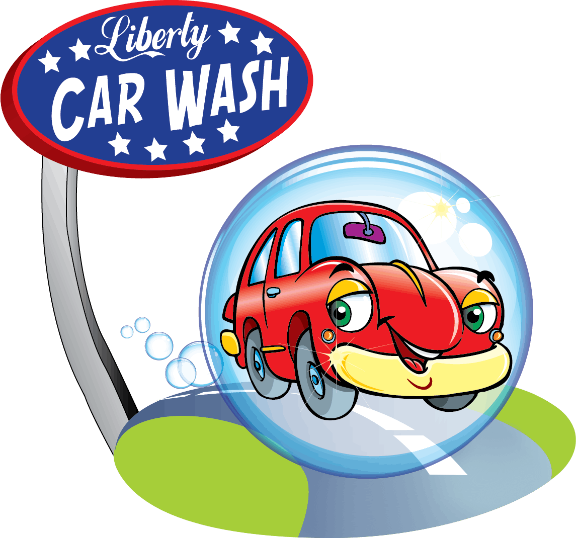 Clipart washing the car banner transparent Liberty Car Wash | Florida City, Florida Car Wash banner transparent