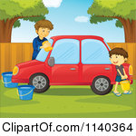 Clipart washing the car clip art Royalty-Free (RF) Car Wash Clipart, Illustrations, Vector Graphics #1 clip art