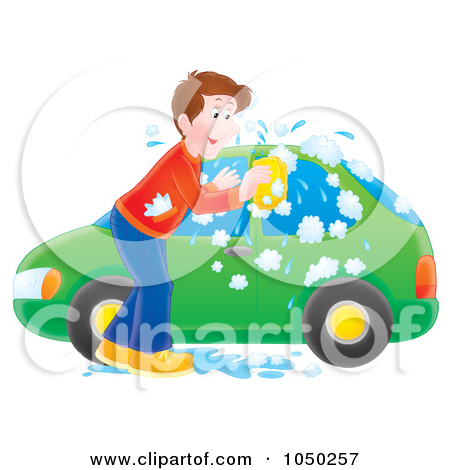 Clipart washing the car graphic transparent library Royalty-Free (RF) Car Wash Clipart, Illustrations, Vector Graphics #1 graphic transparent library