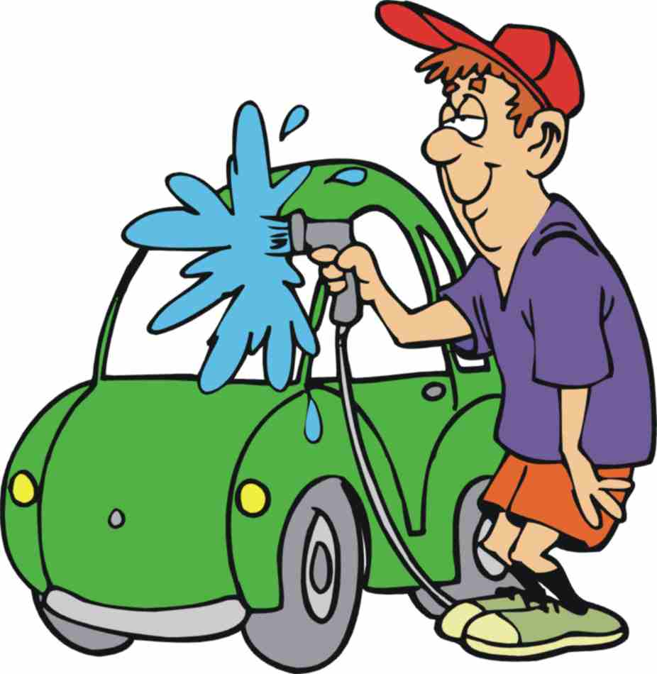 Clipart washing the car png royalty free library Cleaning the car clipart - ClipartFox png royalty free library
