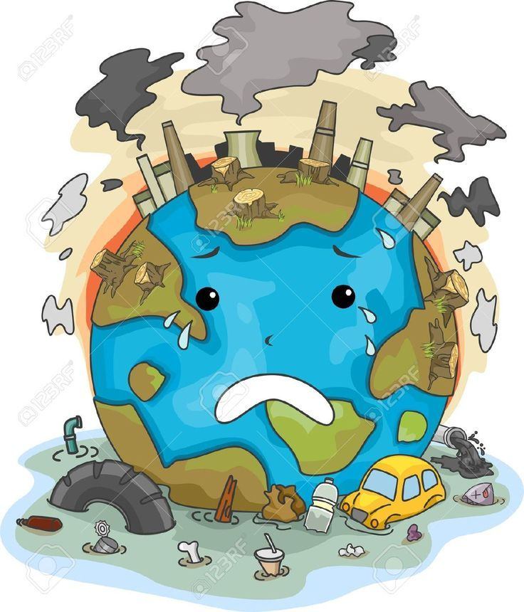 Water contamination clipart