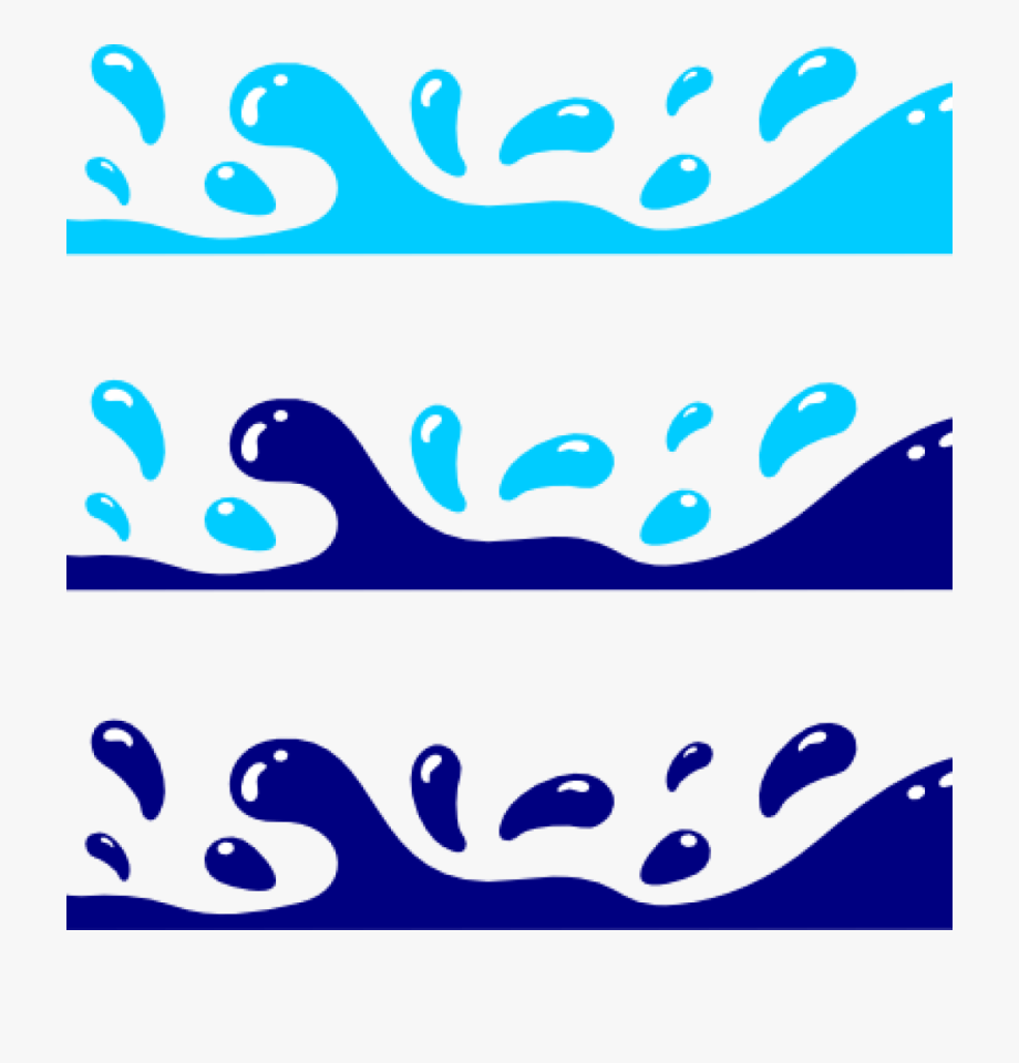 Clipart water waves graphic free library Water Waves Clipart 158447 - Wave Clipart Png #436991 - Free ... graphic free library
