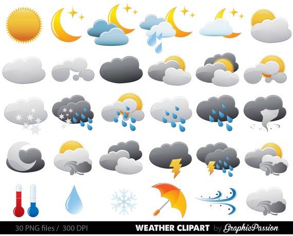 Jpeg ou clipart qual melhor banner black and white download Weather Clipart Clip Art Vectors, Weather digital images, Weather ... banner black and white download