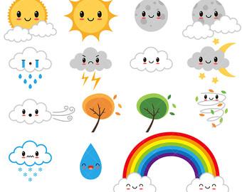 Weather clipart preschool