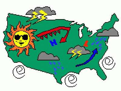 Clipart weather map graphic royalty free Weather Map 184 Piece Crazy BD14F9C55F Jigsaw Puzzle - JigZone - 300 ... graphic royalty free
