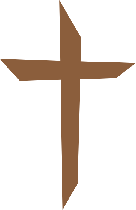 Clipart wedding and cross transparent stock Brown Cross Clipart transparent stock