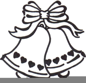 Wedding bells free clipart clip black and white library Clipart Free Wedding Bells | Free Images at Clker.com - vector clip ... clip black and white library