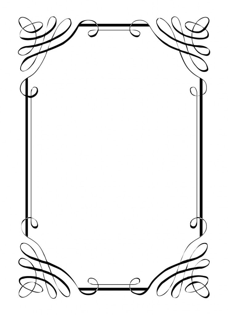 Clipart wedding borders and frames vector free Free Free Wedding Border Clipart, Download Free Clip Art, Free Clip ... vector free