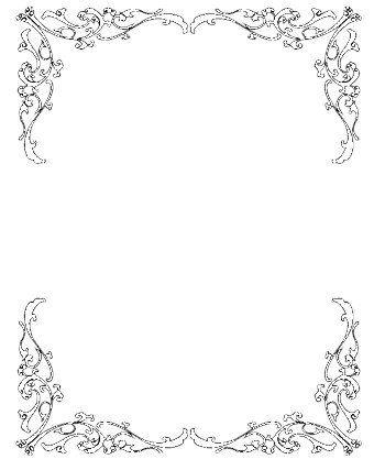 Free black and white wedding invitation clipart image library download Wedding Invitation Clip Art Borders Free Clipart | pin it | Wedding ... image library download