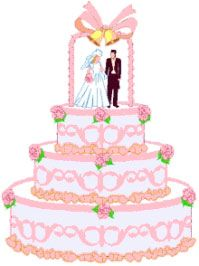 Wedding cake clipart free png freeuse Wedding Cake Clipart - Free Graphics for Weddings | wedding in 2019 ... png freeuse