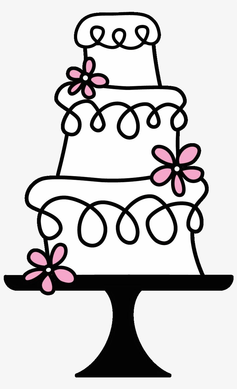 Clipart wedding cake picture transparent library Wedding Cake Clipart Transparent - Vintage Cake Clip Art - Free ... picture transparent library