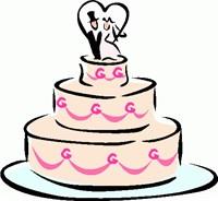 Wedding cake clipart free jpg black and white download 20+ Wedding Cake Clipart | ClipartLook jpg black and white download