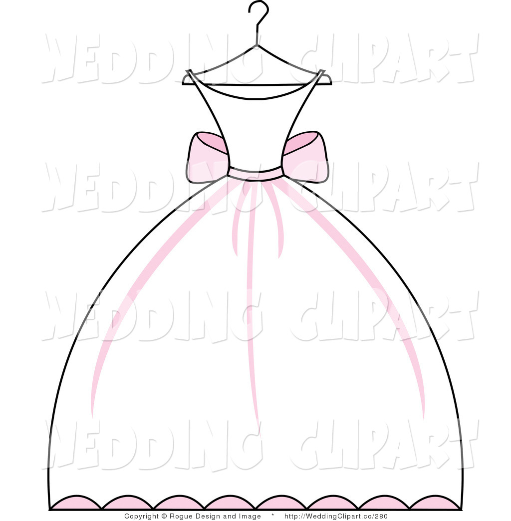 Clipart wedding dress clipart clip black and white download clipart wedding dress clipart clipartfest. vintage wedding dress ... clip black and white download