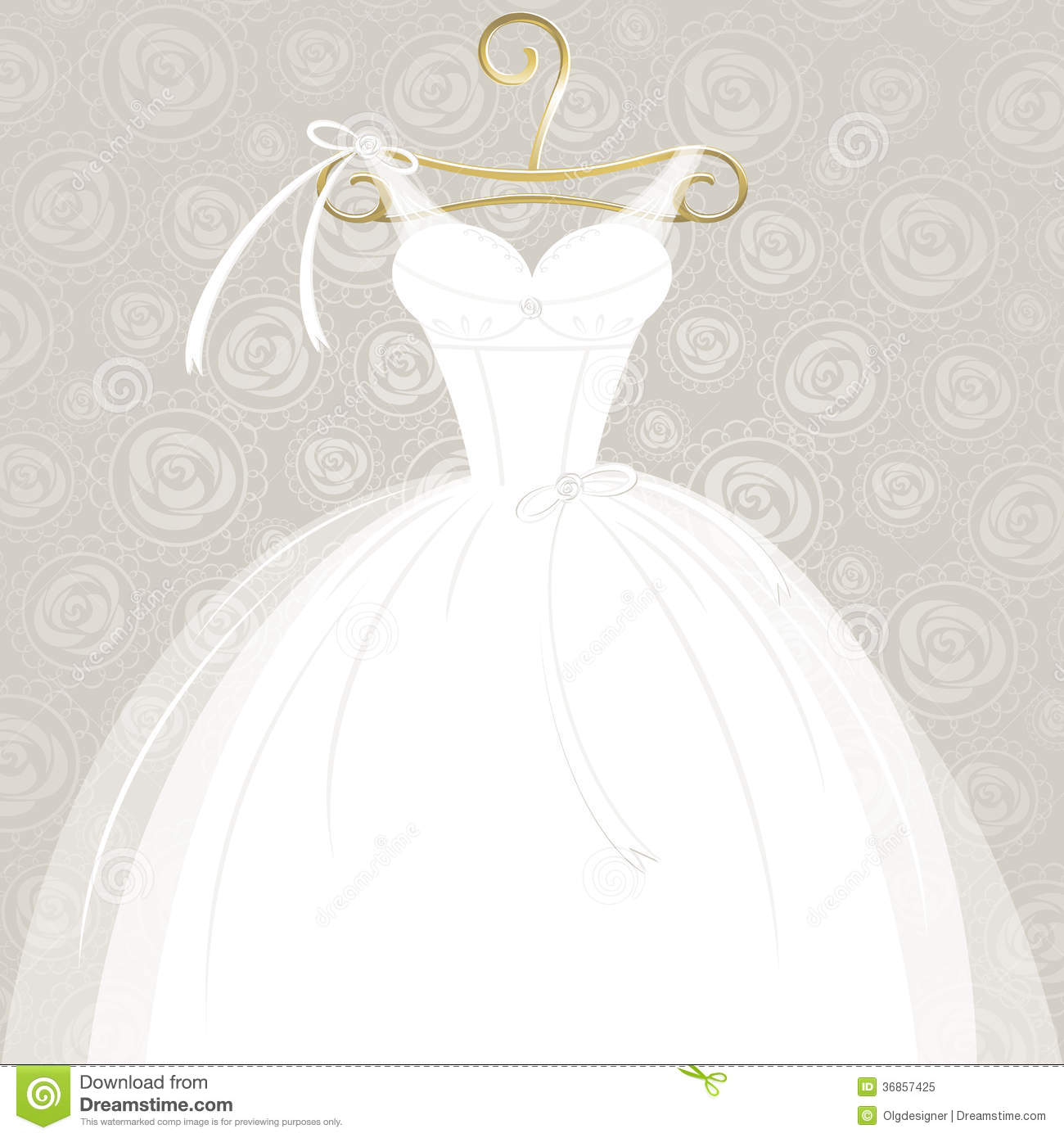 Clipart wedding dress clipart picture freeuse stock wedding dress digital vector clip art wedding gown clipart design ... picture freeuse stock