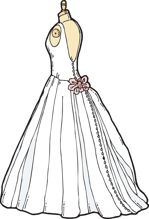 Clipart wedding dress clipart vector download clipart wedding dress clipart clipartfest. vintage wedding dress ... vector download