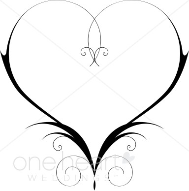 Clipart wedding hearts. Heart graphics images the