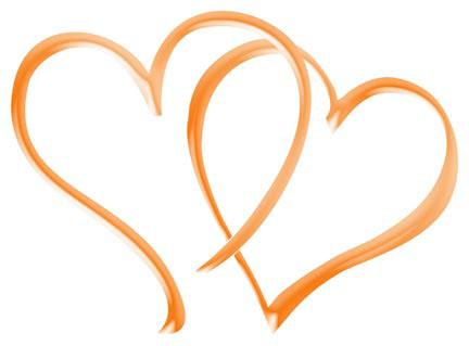 Clipart wedding hearts. Free download clip art