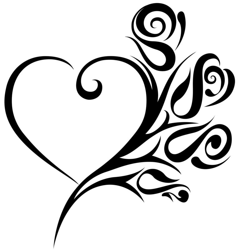 Heart clip art images. Clipart wedding hearts