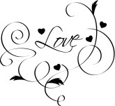 Clipart wedding hearts black and white Heart Clipart, Heart Graphics, Heart Images - The Printable Wedding black and white