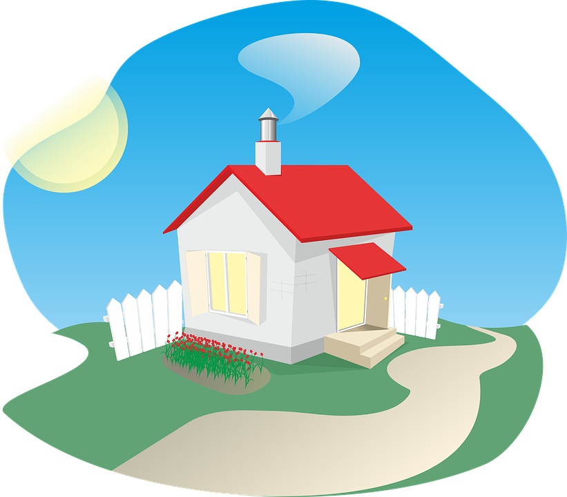 1950 cottage house clipart jpg transparent download Kostenlose Illustration: Haus, Ferienhaus, Clipart - Kostenloses ... jpg transparent download