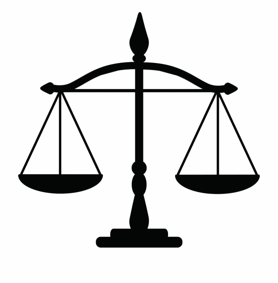 Justice weighing scale clipart svg library library Justice Weighing Scale Law Clip Art - Weighing Scale For Lawyer Free ... svg library library