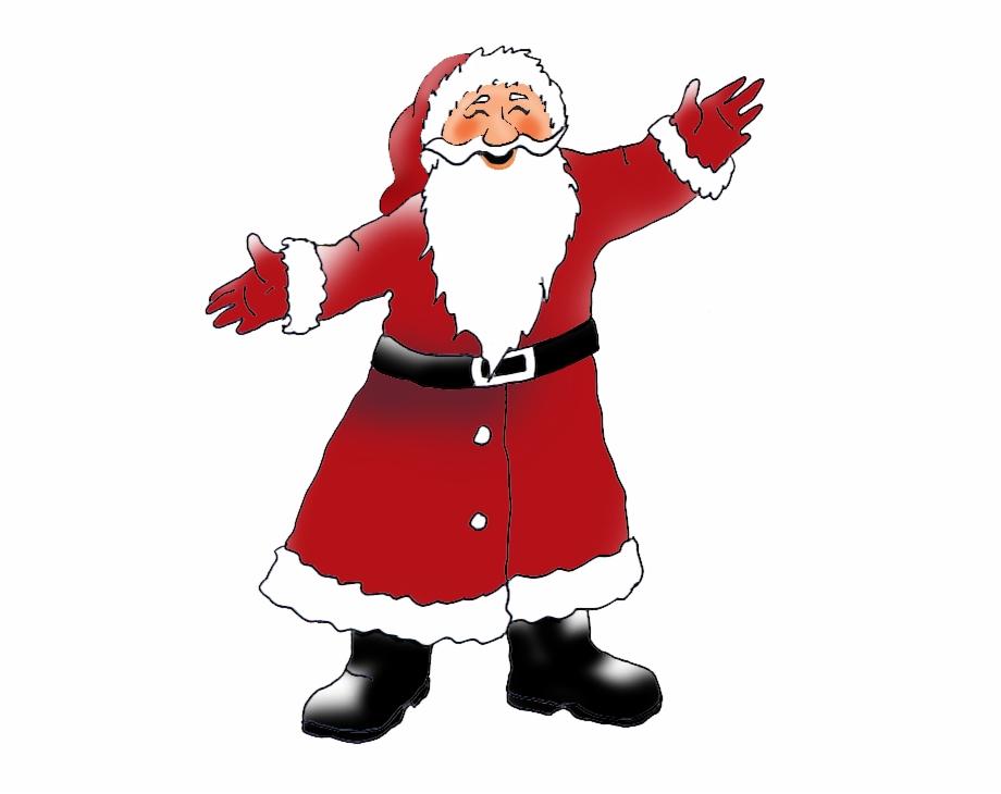 Clipart weihnachtsmotive transparent HD Father Christmas Clipart - Weihnachtsmotive Weihnachtsmann ... transparent