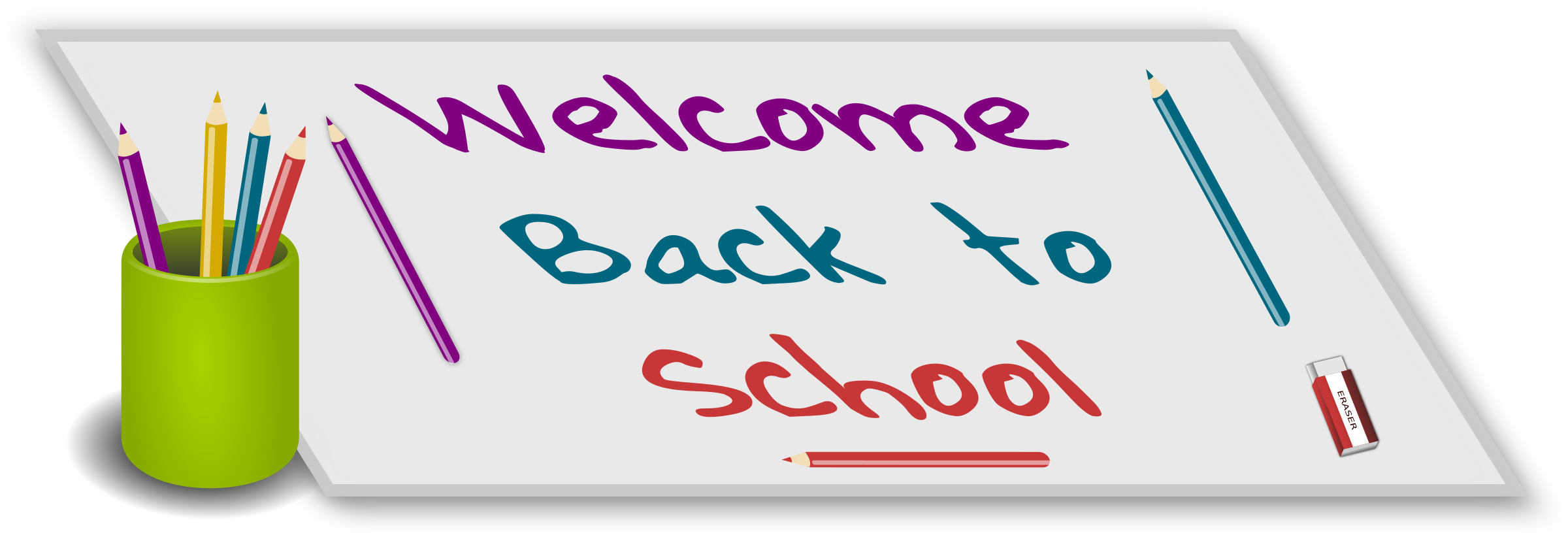 Welcome back school clipart graphic freeuse library Clipart - Welcome Back to school graphic freeuse library