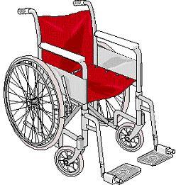 Clipart wheelchairs