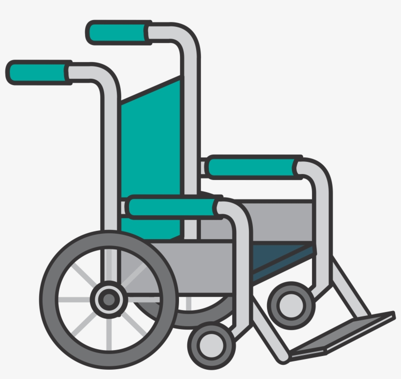 Clipart wheelchairs clip library library Clipart Wheelchair - Clip Art Wheel Chair Transparent PNG ... clip library library