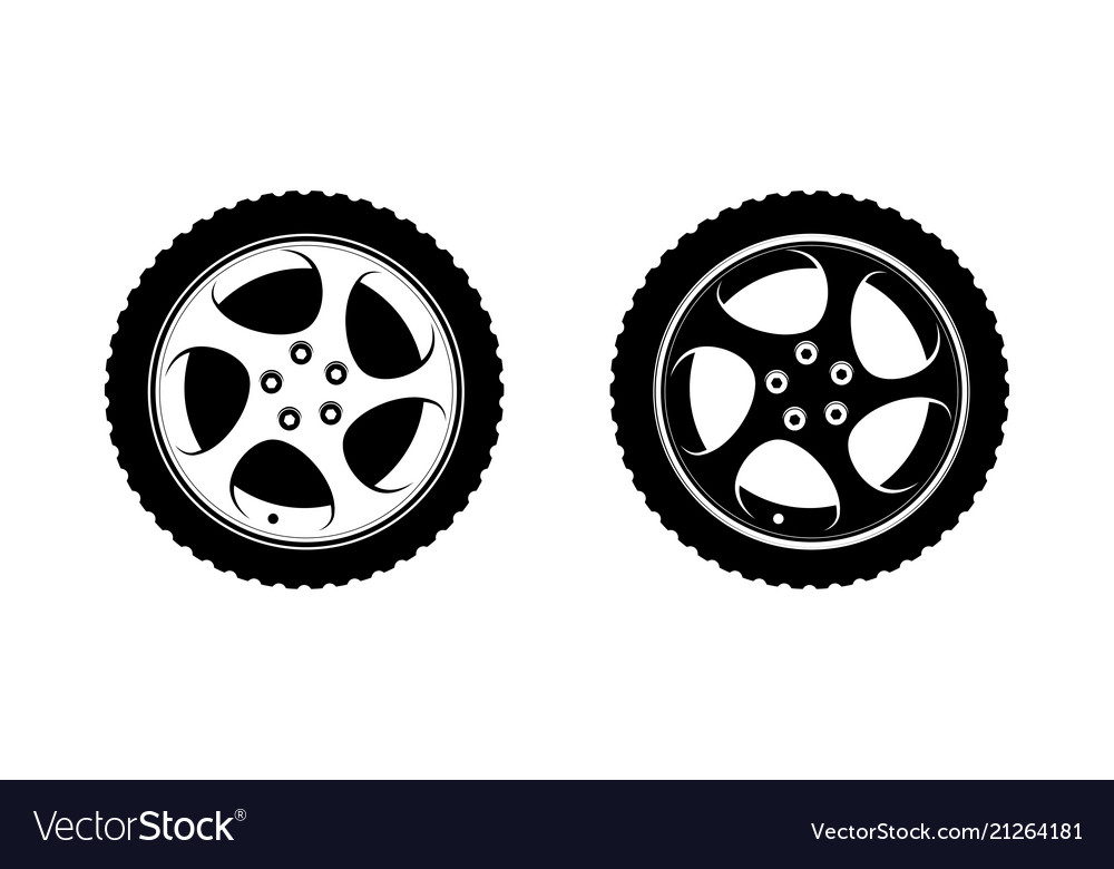 Black clipart wheel clip art free Wheel clipart in white and black disks clip art free