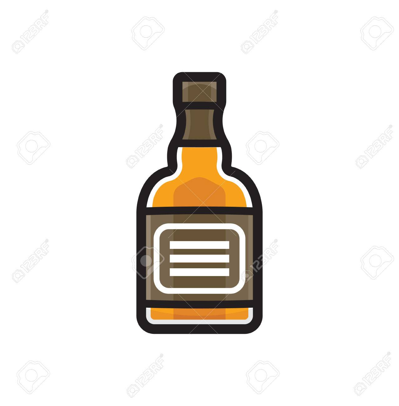 Clipart whikey picture freeuse library Whiskey bottle clipart 6 » Clipart Station picture freeuse library