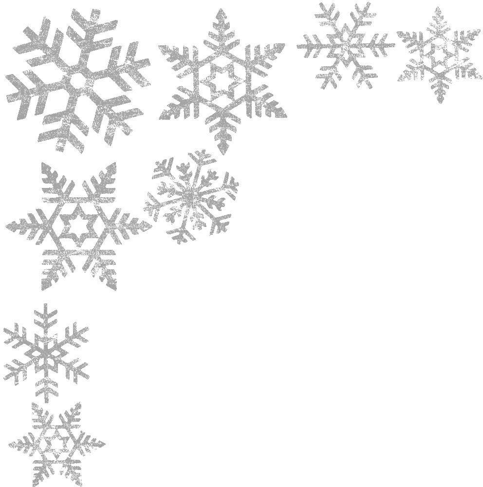 Snowflake clipart black and white png clip transparent stock Snowflakes Overlay transparent PNG - StickPNG clip transparent stock