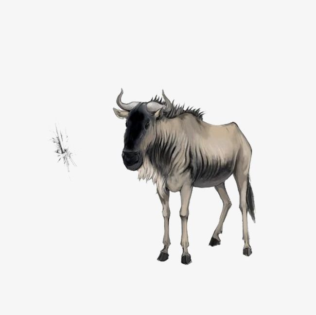 Wildabeast clipart free stock Wildebeest PNG, Clipart, Animal, Wildebeest, Wildebeest Clipart Free ... free stock