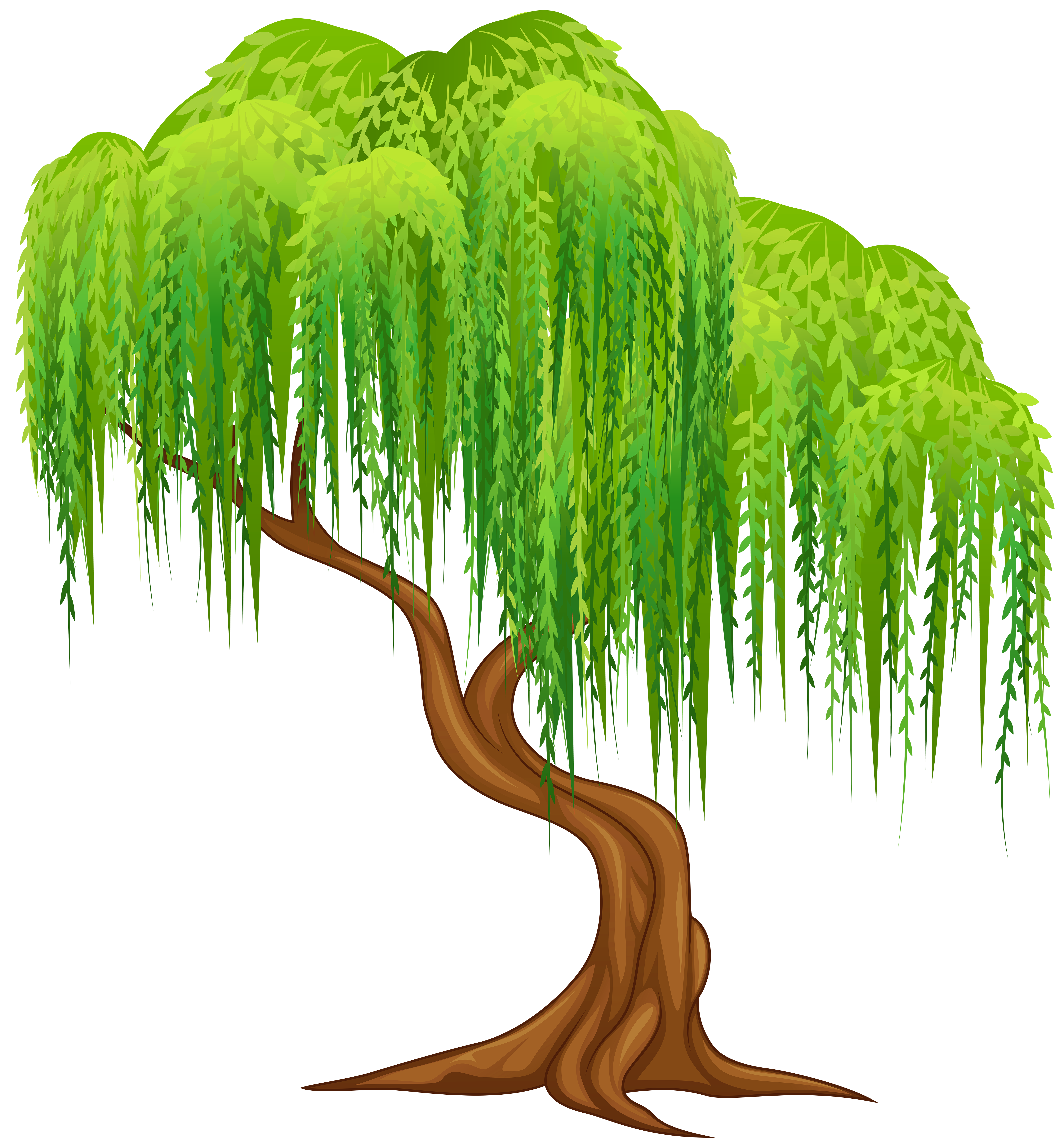Free vector tree clipart clip art royalty free download Willow Tree Transparent PNG Clip Art Image | Gallery Yopriceville ... clip art royalty free download
