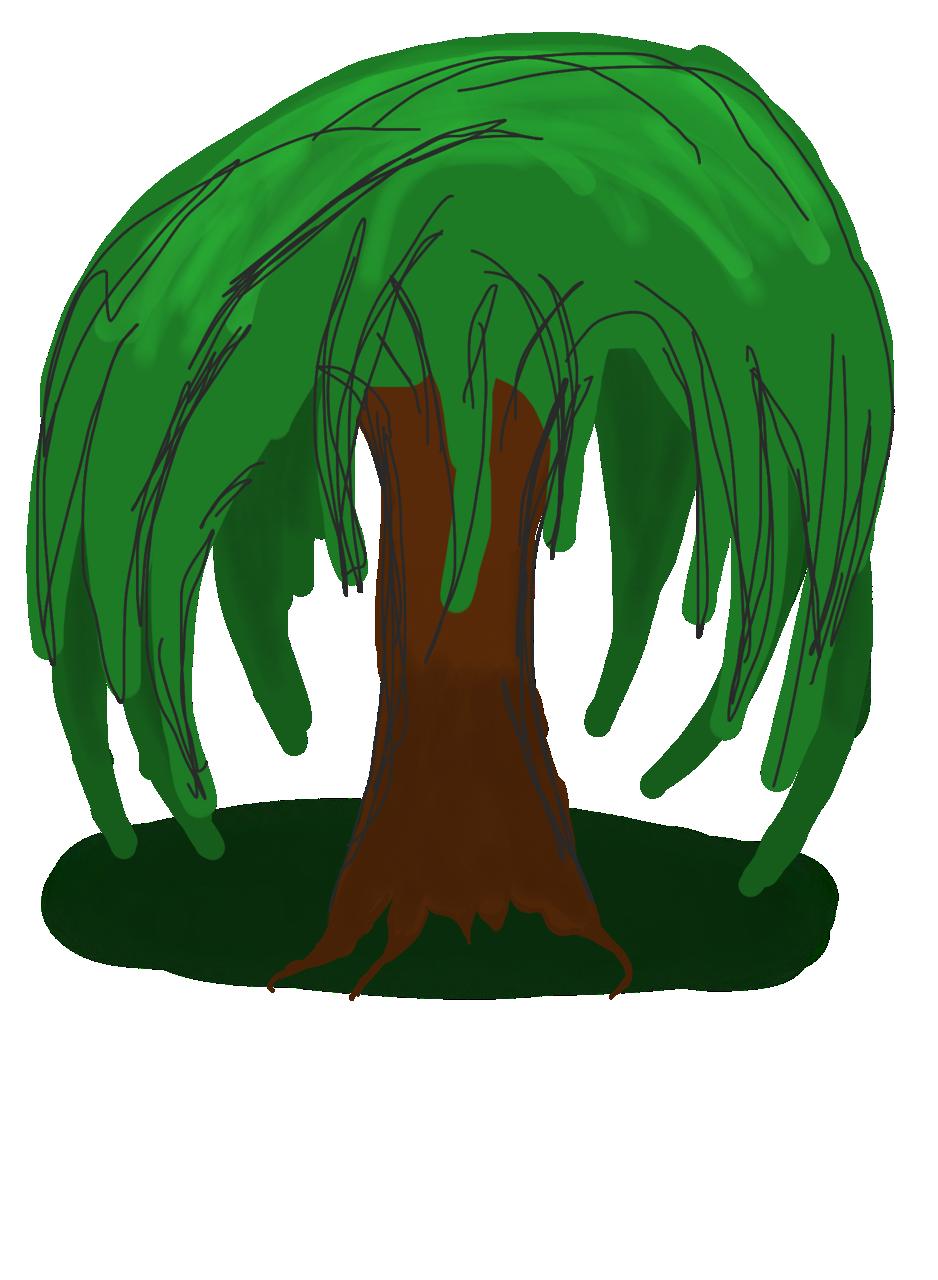 Clipart willow tree jpg stock Willow Trees Clipart jpg stock