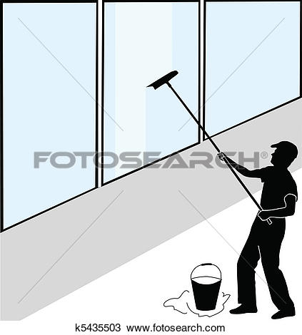 Clipart window washing royalty free library Window cleaning Clip Art and Illustration. 3,010 window cleaning ... royalty free library