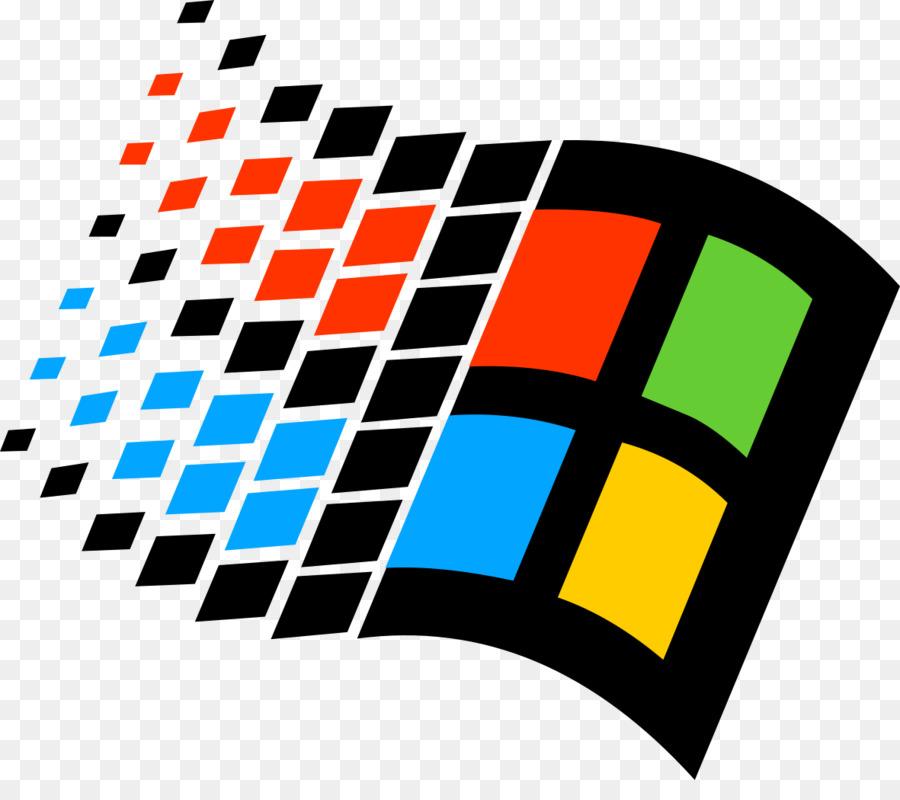 Clipart windows 95 clip transparent stock Windows 10 Logo png download - 1181*1024 - Free Transparent Windows ... clip transparent stock