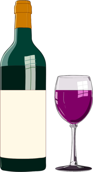 Clipart wine bottle and glass clip art royalty free Wine glass wine bottle and glass vector clip art - ClipartBarn clip art royalty free