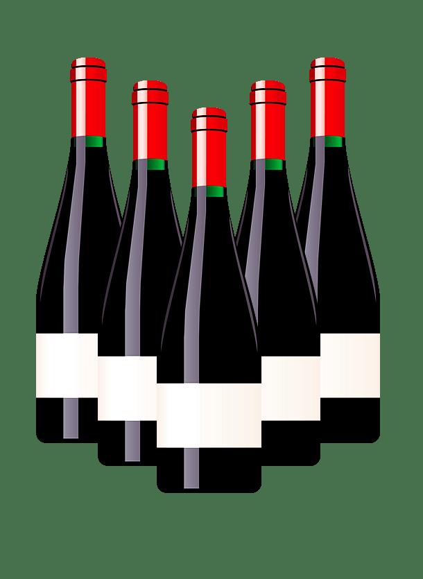 Clipart wine bottles clipart transparent library Wine Bottles Clipart transparent PNG - StickPNG clipart transparent library