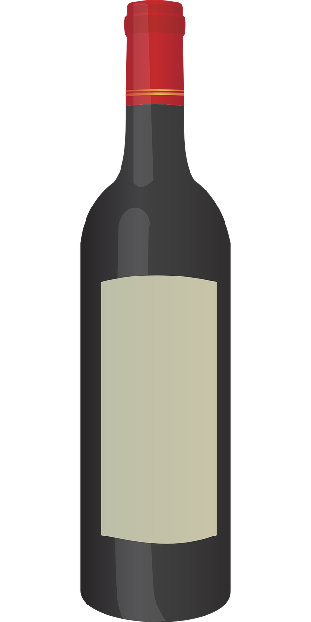 Wine bottle clipart svg library library Wine bottle free to use clip art - ClipartBarn svg library library
