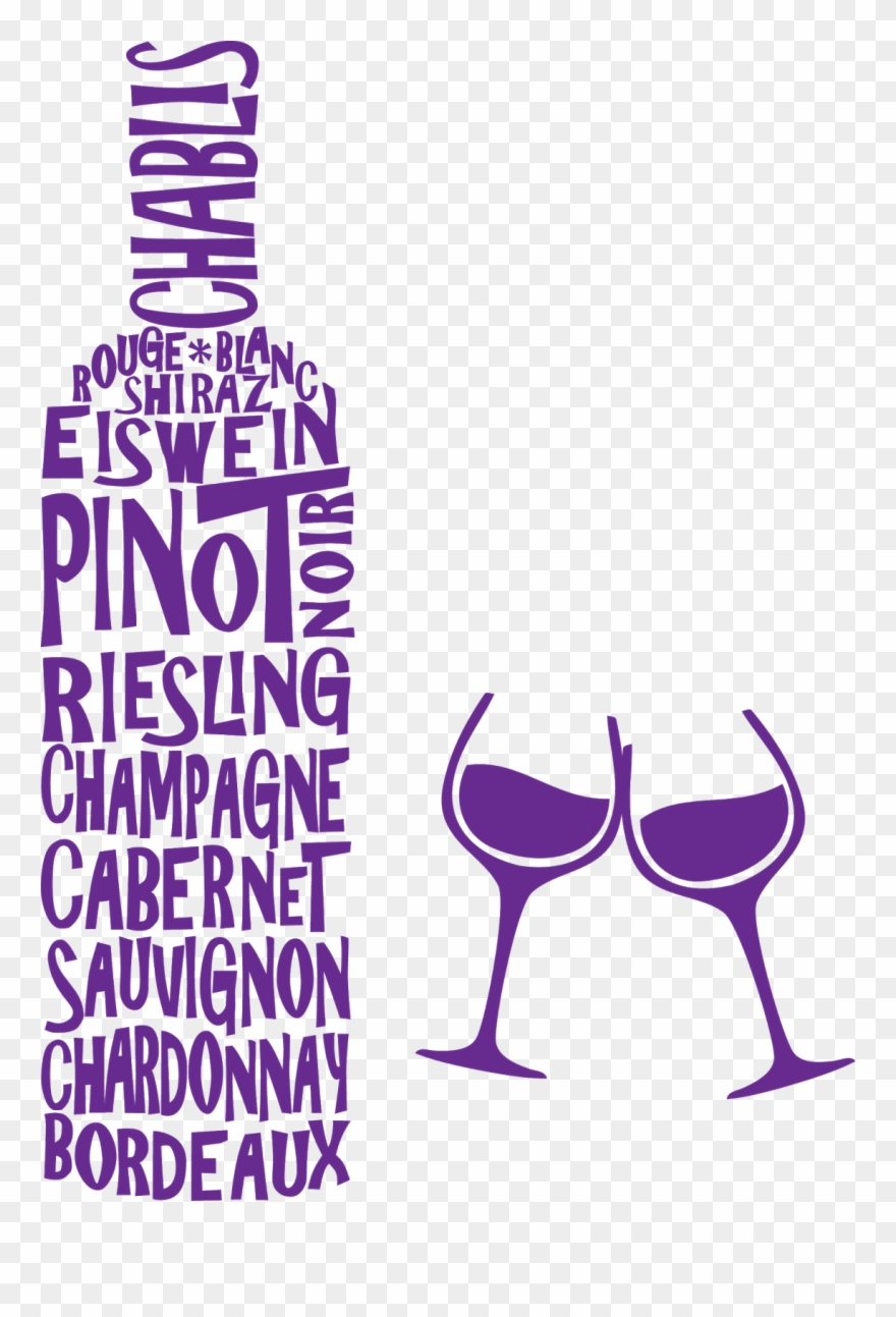 Clipart wine glasses and bottles banner library download Wine Glass Clip Art - Wine Bottle Word Art - Png Download (#266902 ... banner library download