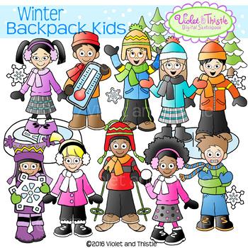 Clipart winter activities jpg royalty free download Winter Kids Clipart Winter Activities Clipart Winter Clipart | TpT jpg royalty free download