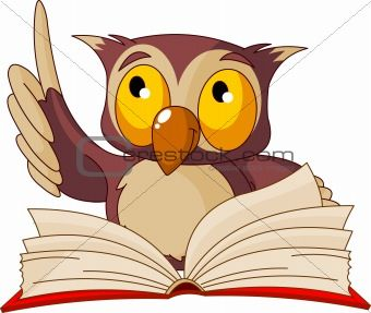 Clipart wise owl picture freeuse download Animals Reading Books | Image 2868182: Wise owl reading book from ... picture freeuse download