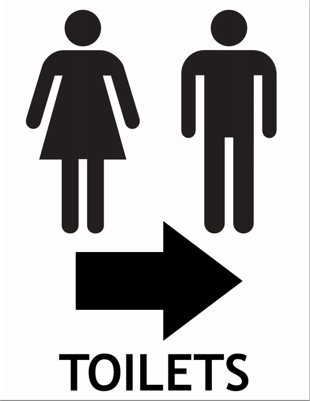Free clipart restroom signs clip Free Signs With Arrows, Download Free Clip Art, Free Clip Art on ... clip