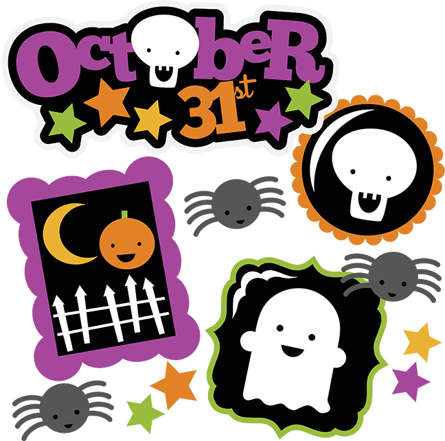 October halloween clipart svg black and white October 31st SVG halloween svg file ghost svg pumpkin svg skeleton ... svg black and white