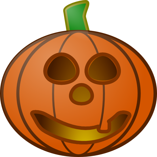 Pumpkin expressions clipart free Pumpkin With Smile Clip Art at Clker.com - vector clip art online ... free